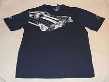 Ford Falcon XC Cobra Snake Mens Navy Printed Short Sleeve T Shirt Size M New