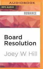 Knights of the Boardroom: Board Resolution 1 by Joey W. Hill (2016, MP3 CD,...