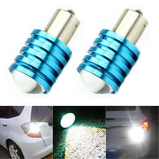 2Pcs 1156P BA15S 7W Cree Q5 LED Pure White Car Signal Reverse Light Lamp Bulb