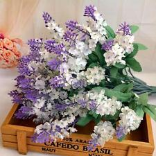 Artificial Fake Flower Bush Bouquet Home Wedding Decor White Christmas