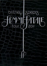 BRITNEY SPEARS * FEMME FATALE 2011 UK TOUR PROGRAMME * HTF * HOLD IT AGAINST ME