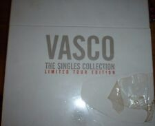 vasco rossi box THE SINGLES COLLECTION 45 giri vinii limited tour edition  nuovo