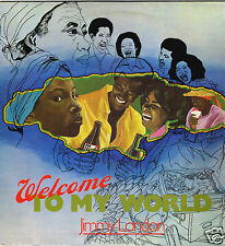 burning sounds  LP : JIMMY LONDON-welcome to my world   (hear)    roots reggae