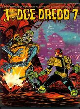 The Chronicals of Judge Dredd ~ Book 7 ~ Paperback 1st Print ~ 1985 Titan