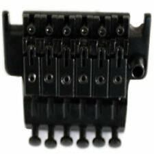 A Set of Black Plated Double Locking Floyd Rose Tremolo System