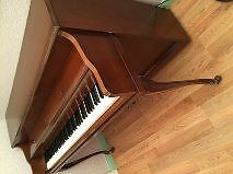 Kohler and Campbell French Style Walnut Piano