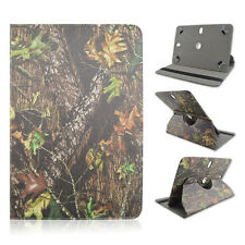 "For Asus - TF300T - 10.1"" inch Tablet Camo Tree Big Branch Case Cover"