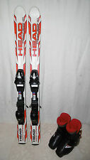 "HEAD ""SUPERSHAPE"" SKI JUNIOR ALLROUND CARVER 107 CM + SKISCHUHE GR. 33 IM SET"