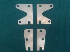 Top & Bottom Easy Fit Morris Minor Hinge Packing Shim Front Door 1mm Stainless