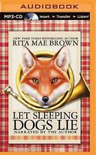 Sister Jane: Let Sleeping Dogs Lie : A Novel by Rita Mae Brown (2015, MP3 CD,...