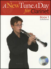 A New Tune A Day for Clarinet Book 1/CD Learn How to Play Beginner Method