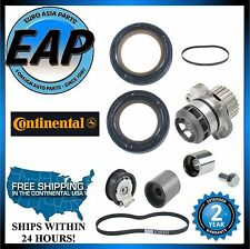 For A3 A4 TT Quattro Jetta Passat GTi 2.0 Timing Serp Belt Water Pump W/ Seals