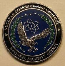 National Security Agency NSA Nuclear Command & Control Military Challenge Coin