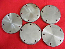 Harley Davidson 5 Hole Stainless Steel Points covers Twin Cam Evo Plain
