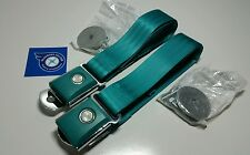 XP FORD FALCON TURQUOISE LAP BELTS-PAIR WILL FIT XM XK XL XY XW ZD ZC MUSTANG