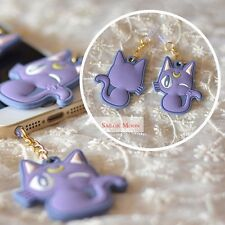 Japanese Anime Sailor Moon Cat Luna Anti-Dust Plug phone Dustproof Personality S