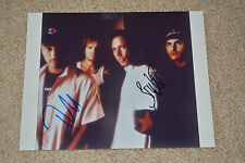 Brad wilk & tom Morello signed autographe en personne a4 rage Against the Machine