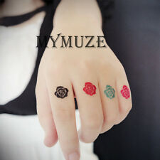 Rozen Maiden Flower Cosplay Tattoo Sticker Temporary Waterproof Tatoo