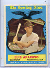 Excellent+++ to Excellent-Mint 1959 Luis Aparicio Topps All-Star Card #560