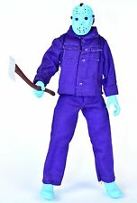 "Friday the 13th Video Game NES 8-bit JASON VOORHEES Purple 8"" Action Figure NECA"