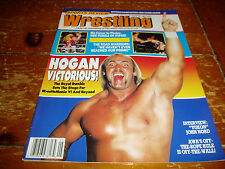Sports Review Wrestling Magazine May 1990 Issue WWF / WWE