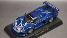 kyosho 1/64 collection Maserati MC12 GT1 Blue new