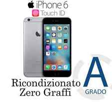 ORIGINALE APPLE IPHONE 6 64GB GRAY NERO ★  ACCESSORI ★ RICONDIZIONATO GRADO A+