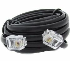 1M, RJ11 TO RJ11 CABLE, TELEPHONE FAX MODEM LINE CORD,ADSL BROADBAND ROUTER LEAD