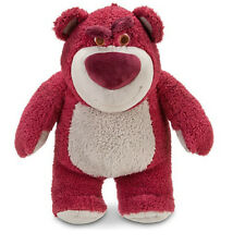 "Disney Store Toy Story Lotso Bear Strawberry Smell Plush BIG 16"" Authentic Patch"