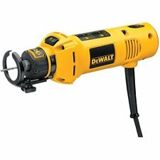 DEWALT Rotary Cutout Tool, 5 Amp 30,000 RPM with 1/8-Inch & 1/4-Inch Collet, New