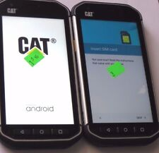 Lot 2 Caterpillar CAT S40 16GB Black  GSM Smartphone  phone Rugged As Is READ!!!