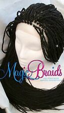 "Hand Braided Lace Front WIG Senegalese long 20"" to 28"" long  CIARRA"
