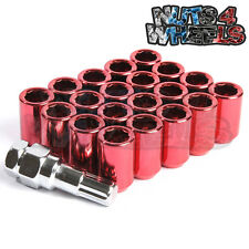 20 x RED Tuner Wheel Nuts 12x1.5 FITS HONDA CIVIC EG EK EP3 FN2 TYPE R