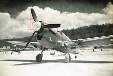WWII 11X14 PHOTOGRAPH OF A BRITISH RAF P-40 WARHAWK NOSE ART LOOK AT AIRFIELD