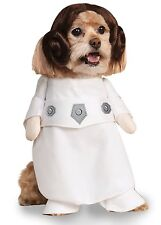 New !  Rubie's Costume Co - Star Wars Princess Leia Dog Costume Size Large