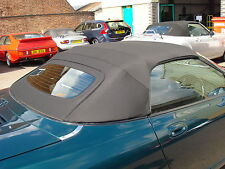 MGF & MGTF  Mk1/2 New Black Mohair Hood & Glass Window Section