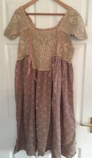 BN MAGNOLIA PEARL Ave Maria Animal Cookie Butterfly Flower Crochet Dress Top OS
