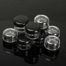 10Pcs 5ML Cosmetic Empty Jar Pots Eyeshadow Makeup Face Cream Lip Container Box