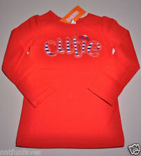 Gymboree girl red cutie shirt top size 5 5T NWT 100% cotton