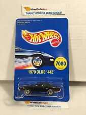 1970 Olds 442 w/ Real Riders 11897 * Seattle Toy Fair * Hot Wheels * H43
