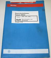 Werkstatthandbuch VW Passat B4 Typ 3A Simos Einspritzanlage Zündanlage ab 1994!