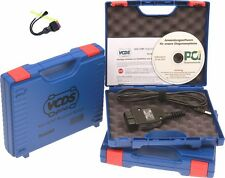 Vcds vcdspro Incl. Adaptateur 2x2 vag-Com Hex Can ross-tech Diagnostic Interface obd2