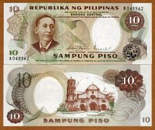 Philippines, 10 Piso, ND (1969), Pick 144 (144b), UNC