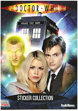 Unused Doctor Who Radio times Sticker book + poster & 3 x unopened packs