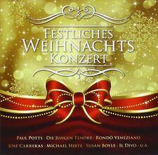 FESTLICHES WEIHNACHTSKONZERT  CD NEW+ SUSAN BOYLE/EDWARD SIMONI/GÜNTER NORIS/