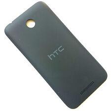 100% ORIGINALE HTC Desire 510 Posteriore Batteria Coperchio Nero BACK HOUSING MATT GREY