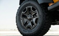 Jeep Wrangler Willys Wheel Touch Up Paint BLACK CRYSTAL code DX8