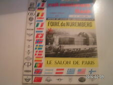 ** RMF n°47 Le Salon de Paris / La foire de Nüremberg / Travaux public au 1/87