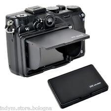 """Protezione schermo LCD 2,7"""" / 2,8"""" universale con paraluce display Canon Nikon"""