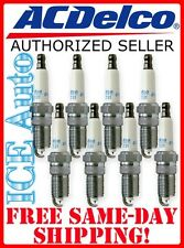 8 PACK! AC DELCO Iridium Spark Plugs 41-110 12621258 AUTHORIZED ACDELCO SELLER